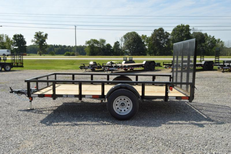 2018 Quality Trailers 77x12 Pro Series Utility Trailer