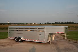 2019 Hillsboro Industries 7 Wide Endura Livestock Trailer