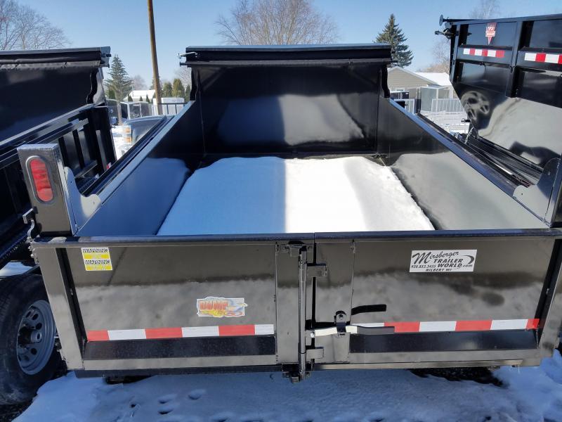 2018 Quality Steel and Aluminum 72x10 LP 10K Dump Trailer