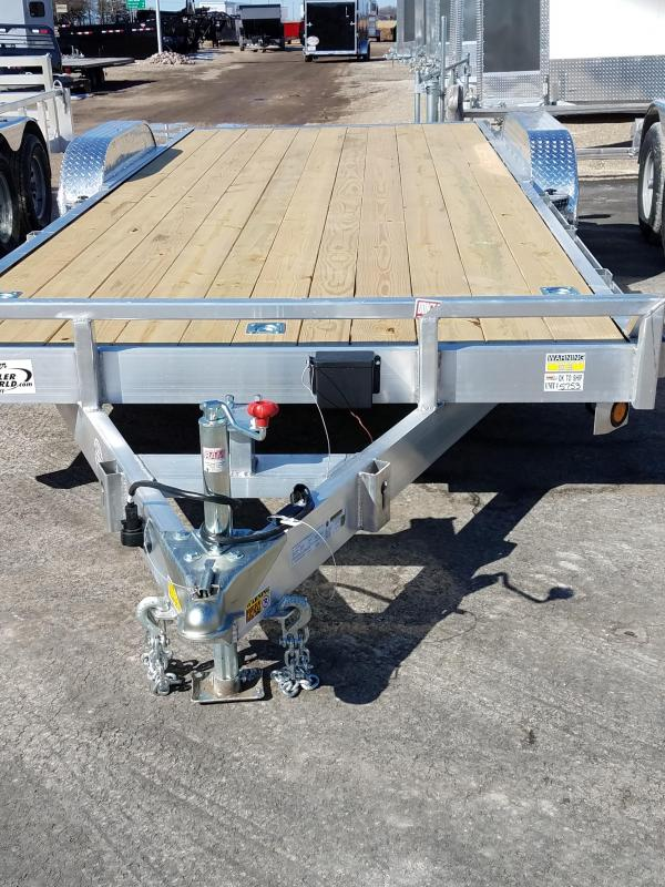 2018 Quality Steel and Aluminum 8320ALCH 7K Equipment Trailer