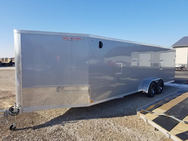 2018 Discovery Trailers GLACIER SERIES 7X29 Enclosed Cargo Trailer