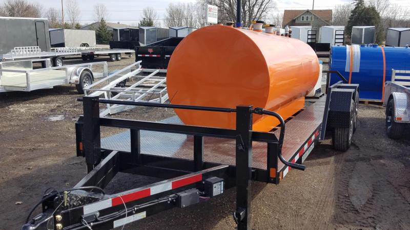 2020 Rugged Terrain Sut 80x20 14k Ta Fuel Trailer