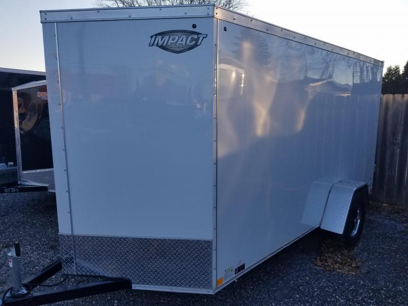 2019 IMPACT CLASSIC SERIES 6X12 Enclosed Cargo Trailer