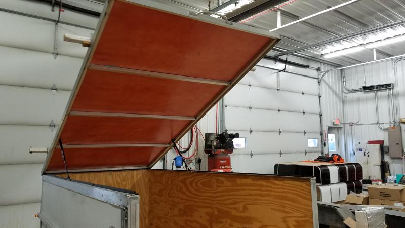 2013 Aerohood 4x8 Fiberglass Hatch
