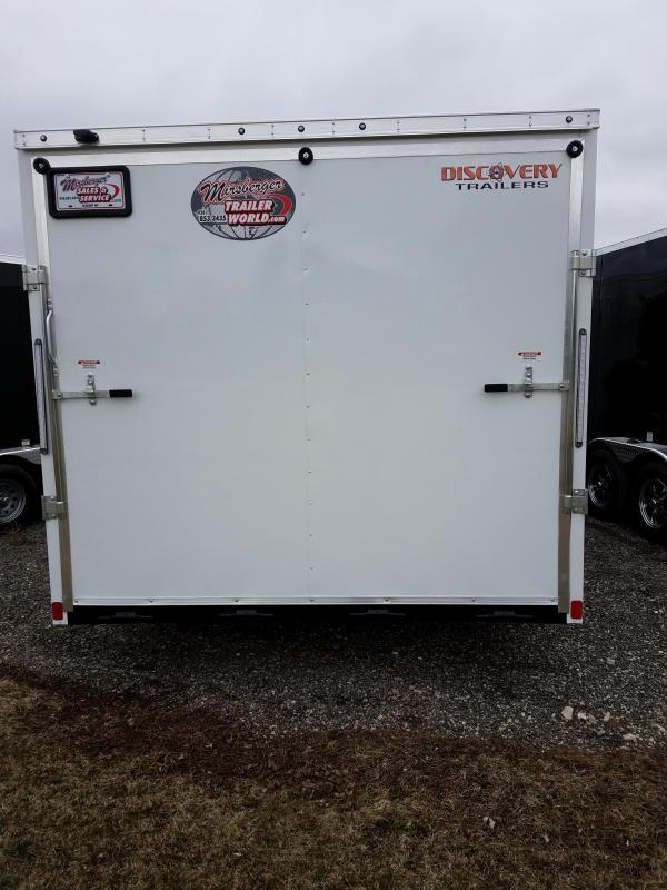 2019 Discovery Trailers CLASSIC SERIES 8.5X20 Enclosed Cargo Trailer