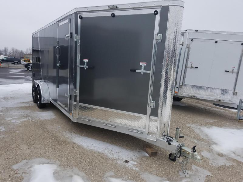 2019 Discovery Trailers GLACIER SERIES 7X23 Snowmobile Trailer