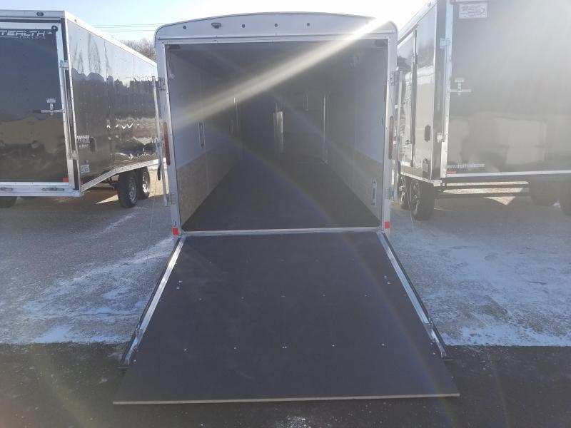 2018 Forest River Inc. GLACIER SERIES 7X27 Snowmobile Trailer