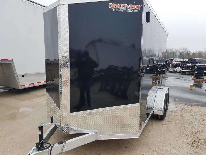 2019 Discovery Trailers SUPERLITE SERIES 7X14 Enclosed Cargo Trailer
