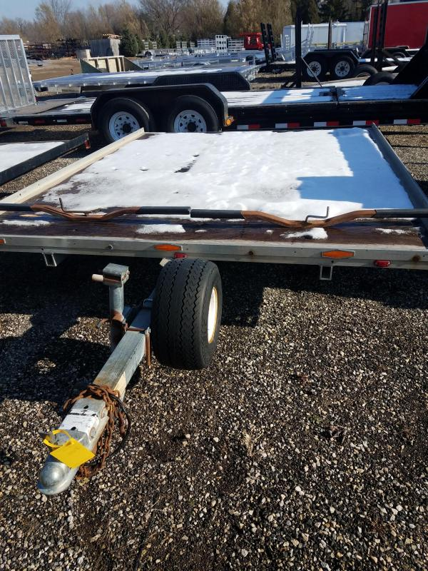 1992 Karavan 8x10 Snowmobile Trailer