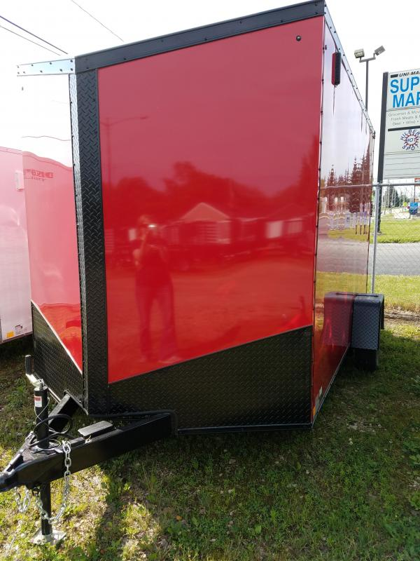 2019 Impact Trailers Elite Series 7x12