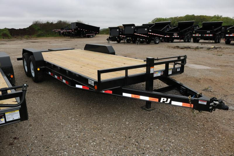 2018 PJ Trailers 20' CC with Monster Ramps