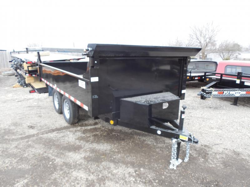 2018 Quality Steel and Aluminum 6x12 Dump Trailer