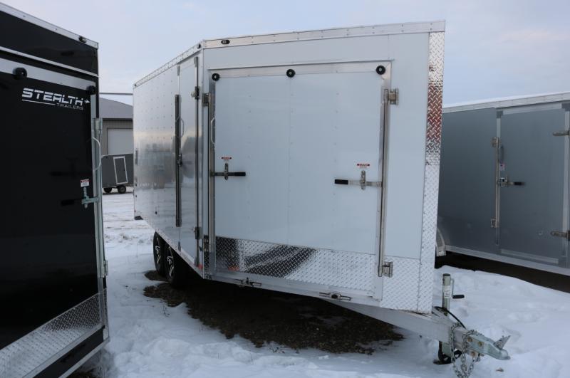 2017 Stealth Trailers 8.5x19 Apache Snowmobile Trailer