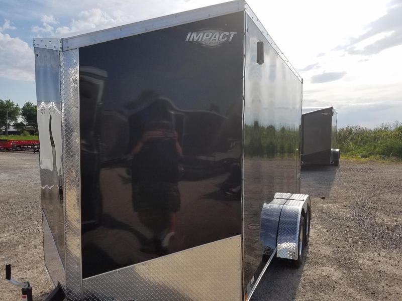 2019 Impact Trailers Classic Series 7x12