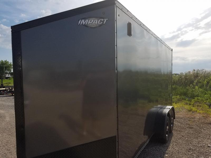 2019 Impact Trailers Classic Series 7x16