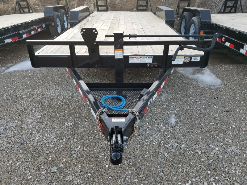 2018 PJ Trailers CC202 Equipment Trailer
