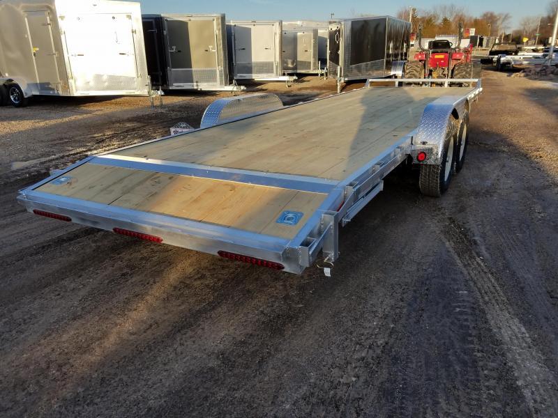2018 Quality Steel and Aluminum 8324ALEH 10K Equipment Trailer