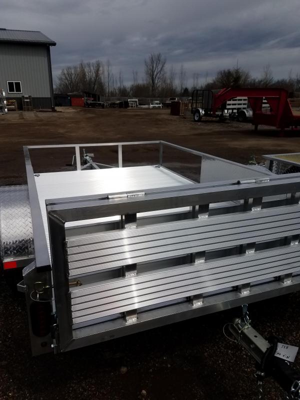 2019 Rugged Terrain PP 6X10 Utility Trailer