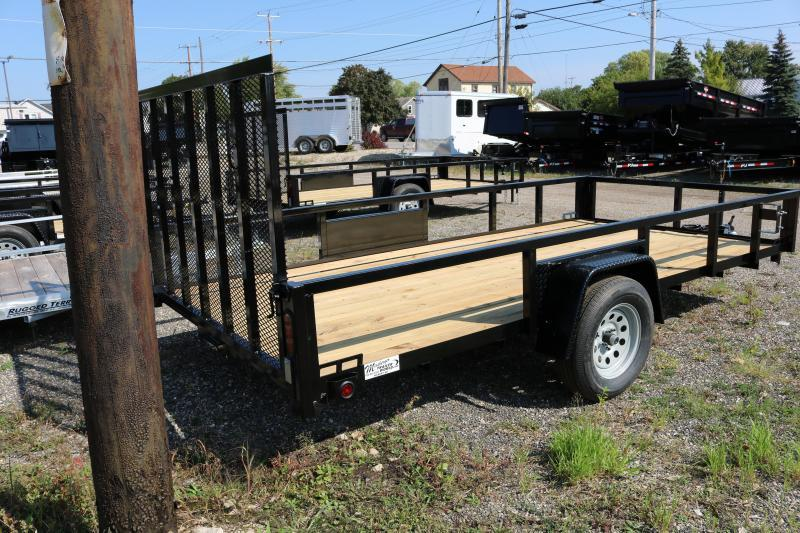 2018 Quality Steel 82x14' Trailer