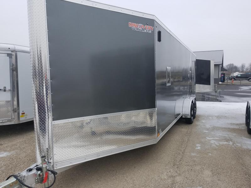 2019 Discovery Trailers GLACIER SERIES 7X27 Enclosed Cargo Trailer