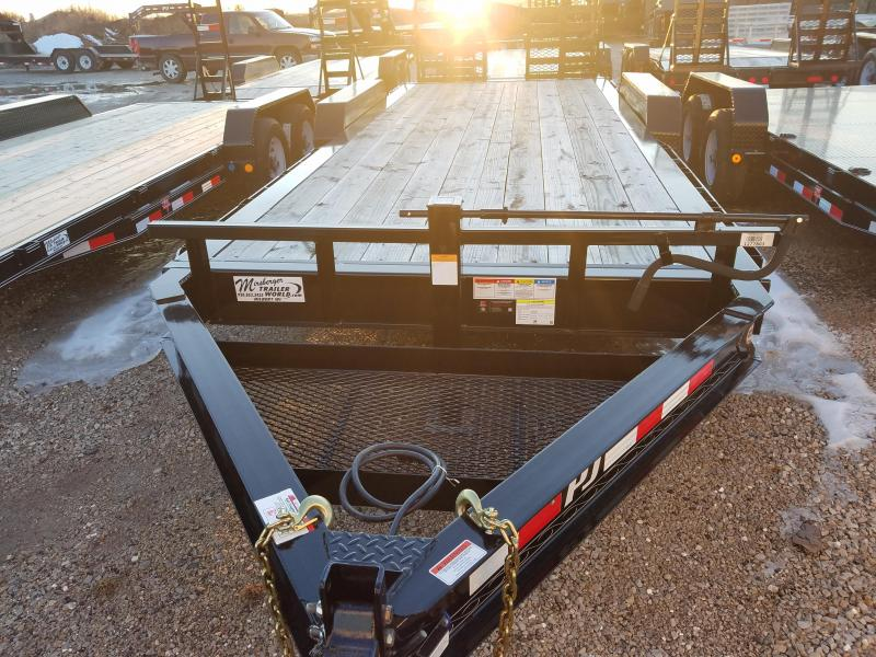 2018 PJ Trailers H4202 Equipment Trailer