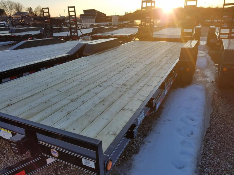 2018 PJ Trailers CE222 Equipment Trailer