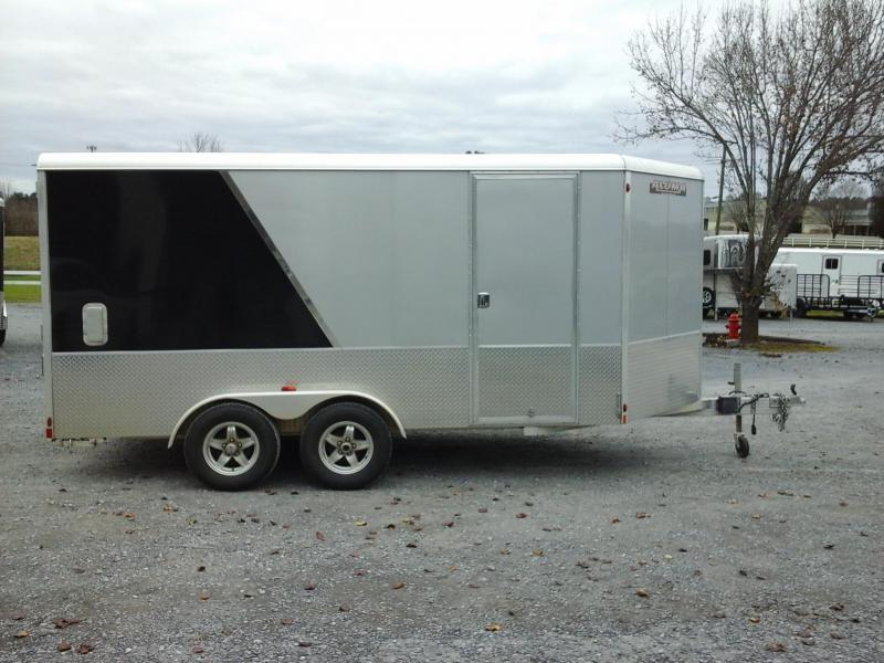 2017 Aluma AE714 Enclosed Cargo Trailer
