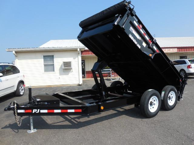 2018 PJ Trailers 12 x 83 Low Pro Dump Trailer