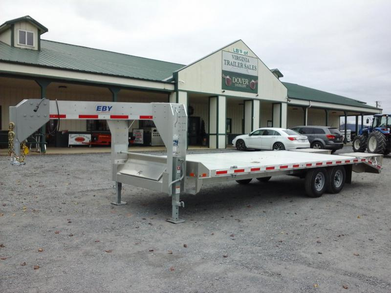 2019 EBY 102x24 Deckover Equipment Trailer