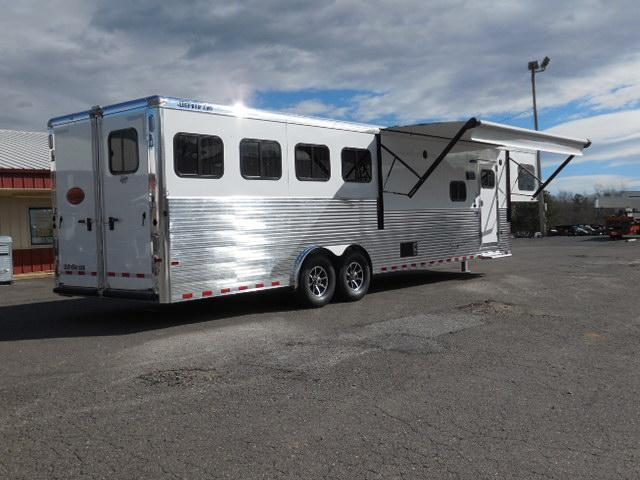 2017 Sundowner Trailers 4H Horizon LQ Horse Trailer
