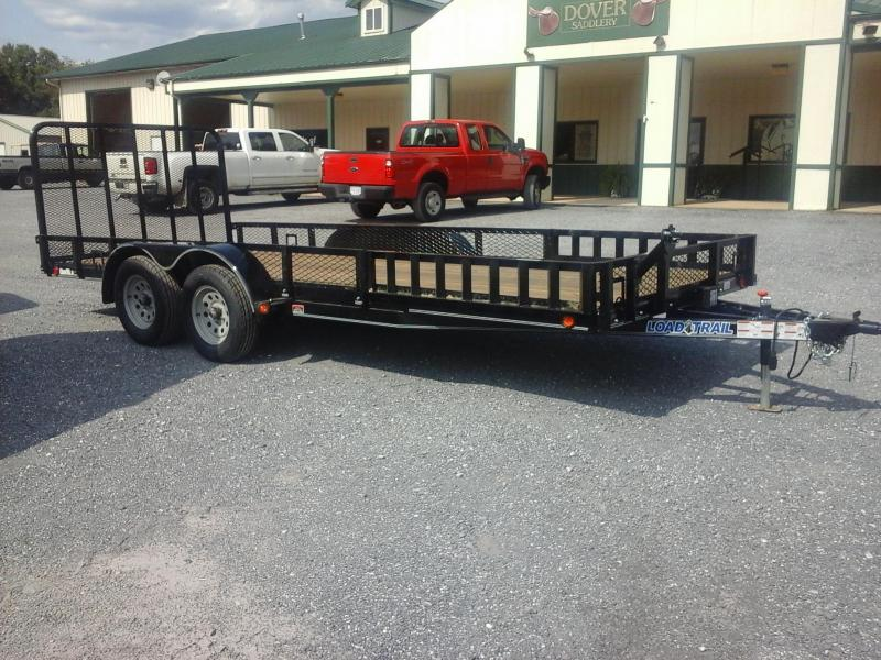 2018 Load Trail 83 x 18 Tandem Axle Utility Trailer