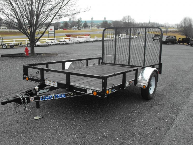 Clearance 2013 Load Trail 83 x 10 Utility Trailer
