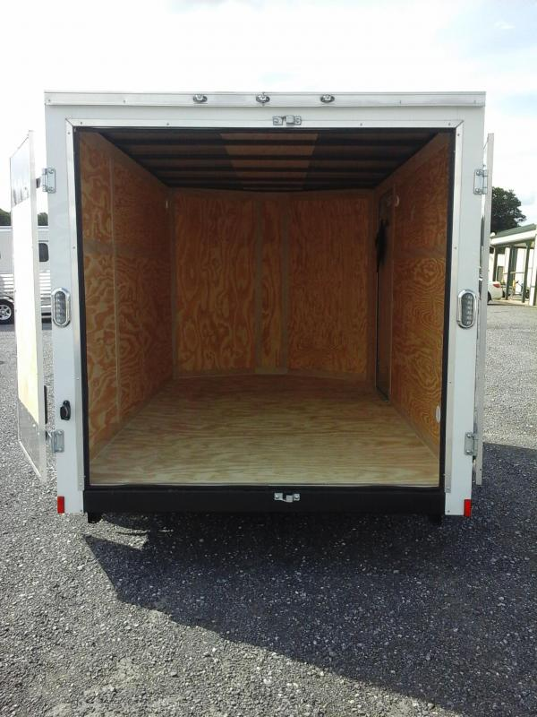 2019 Forest River Inc. 6x12 SA Continental Enclosed Cargo Trailer