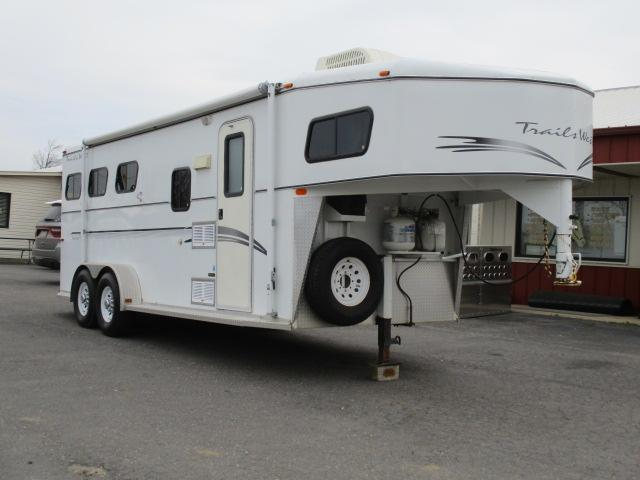 2000 Trails West Manufacturing Horse Trailer
