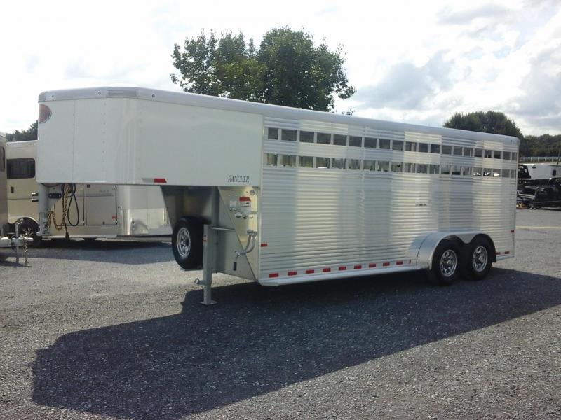 2019 Sundowner Trailers 20ft Rancher Livestock Trailer