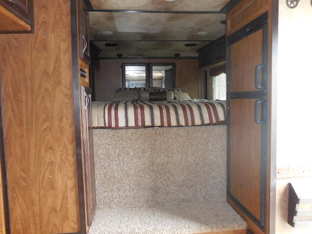 2015 Trails West 3H LQ w/Slide Horse Trailer