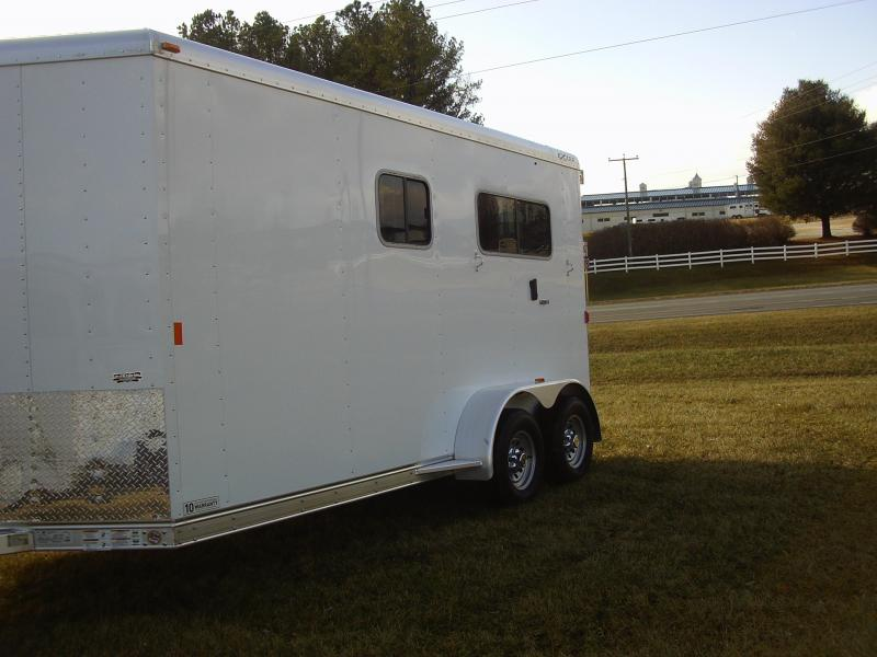 Clearance 2015 Exiss 2H ST BP DR Horse Trailer in Ashburn, VA