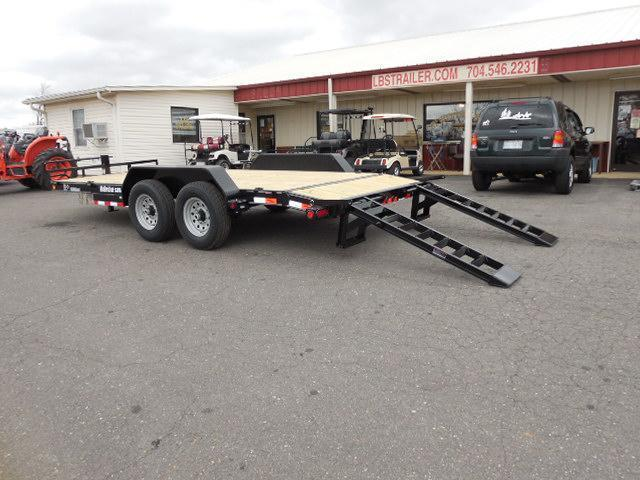 2017 Load Trail BP 83 x 18 CH Car / Racing Trailer