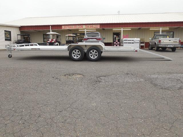 2017 Aluma 8220HWB Car / Racing Trailer in White Stone, SC
