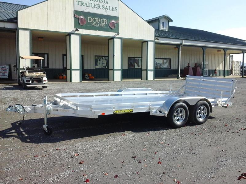 2018 Aluma 7816BT Utility Trailer in Ashburn, VA
