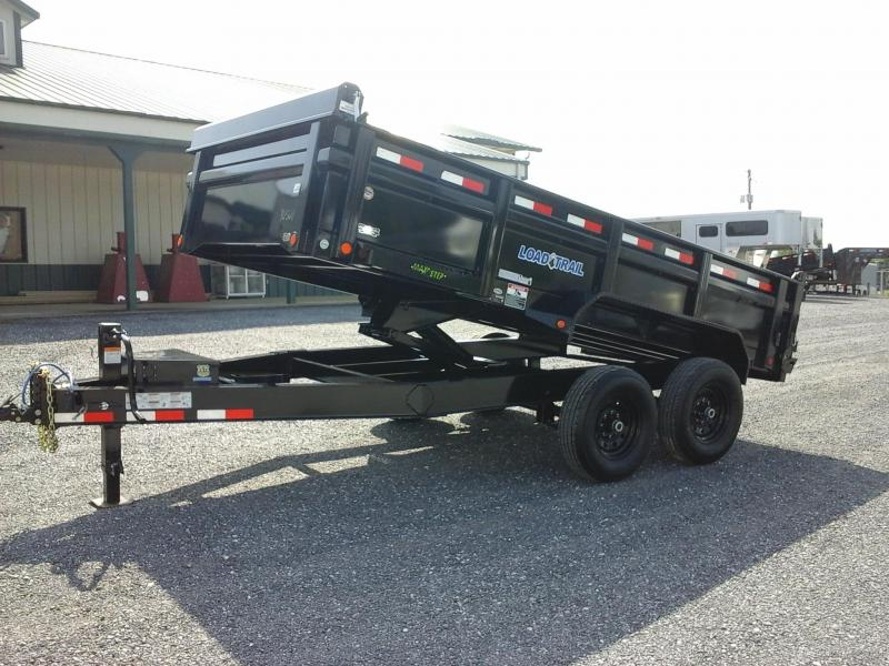 2018 Load Trail 83x14 Tandem Axle Dump Trailer