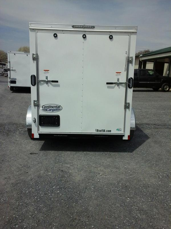 2020 Continental Cargo 610SA Enclosed Cargo Trailer