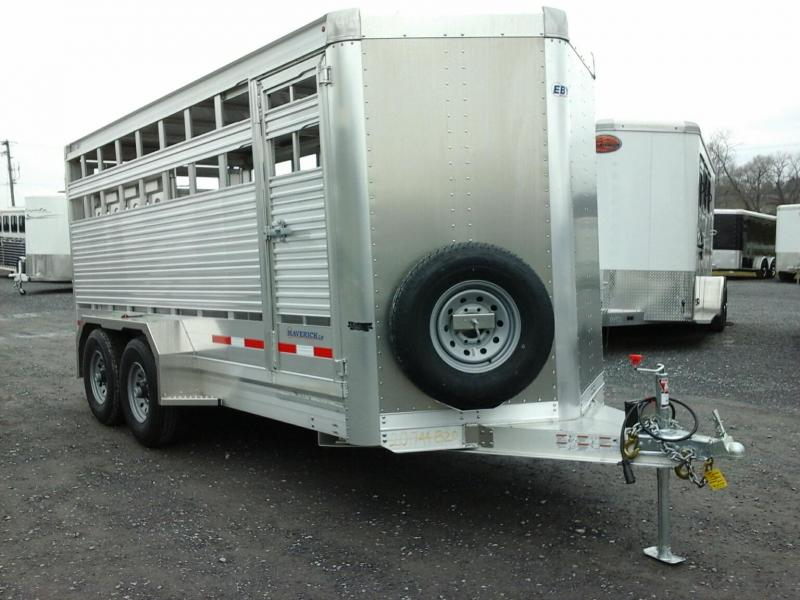 2020 EBY 16 Maverick LS Livestock Trailer