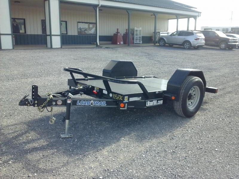 2019 Load Trail 60x10 SA Scissor Hauler Equipment Trailer