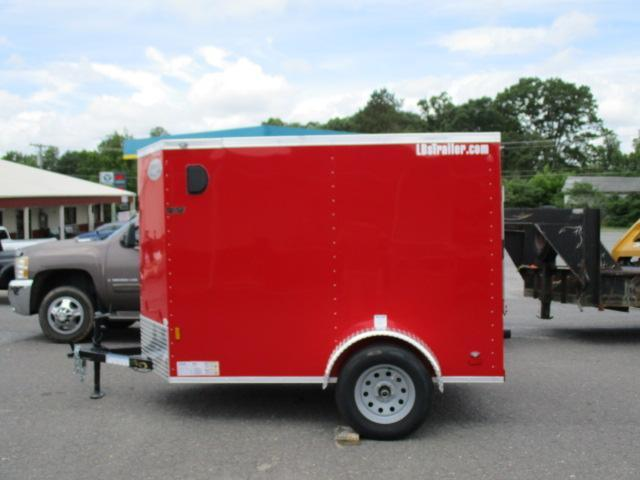2020 Continental Cargo 5 X 8 Enclosed Cargo Trailer in Crumpler, NC