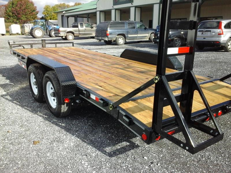 2019 PJ Trailers 83x20 6in. I-Beam Equipment Trailer