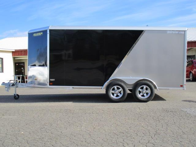 2019 Aluma AE714 TA Enclosed Cargo Trailer in Crumpler, NC