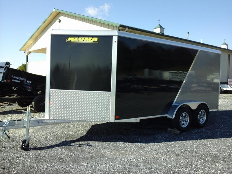 2019 Aluma AE714 TA Enclosed Cargo Trailer