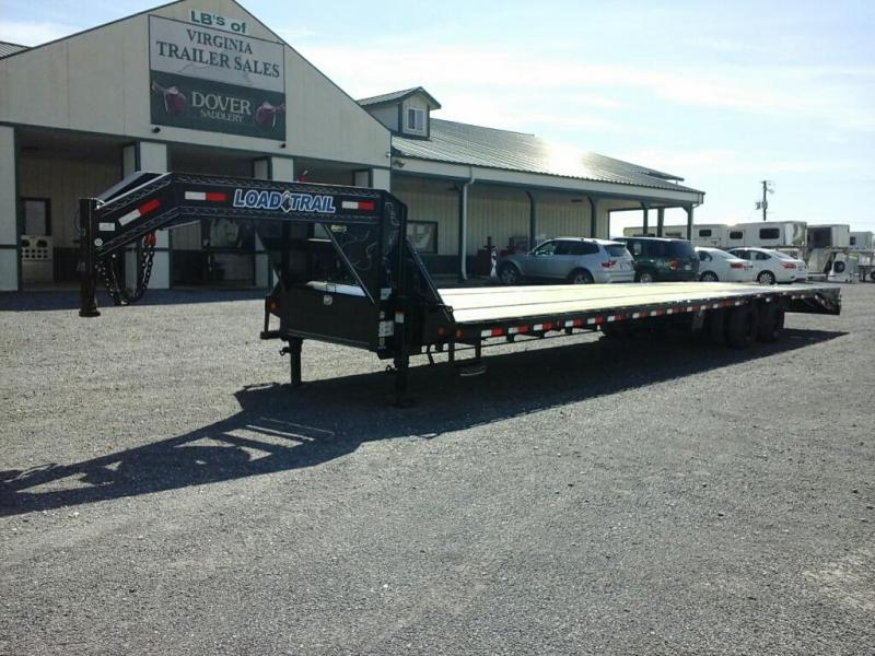 2019 Load Trail 102 x 40 TA Low-Pro Gooseneck Equipment Trailer