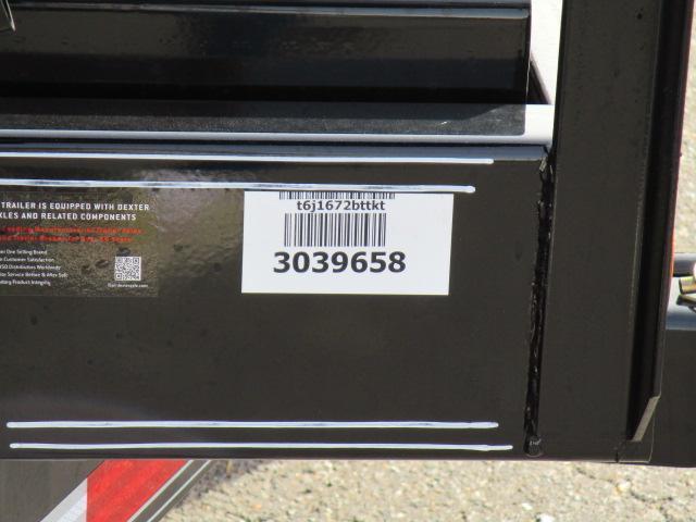2020 PJ Trailers 16ft Equipment Tilt Utility Trailer